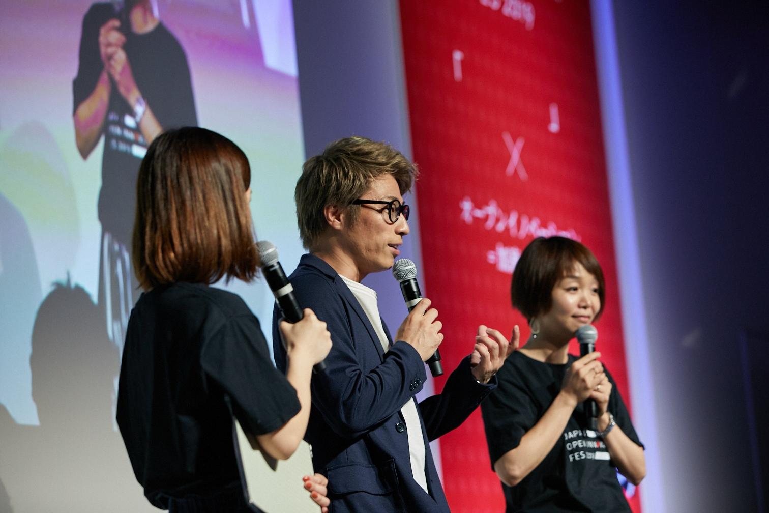 大企業8社がその場で連携を判断するピッチイベントに田村淳氏登場!スタートアップとの共創で「AI司会者」を創出!?
