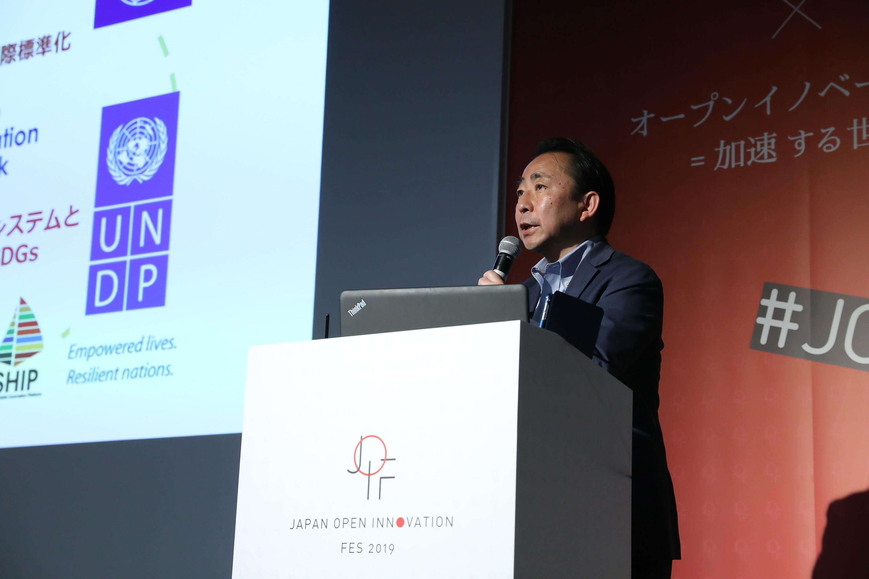 個人技でのイノベーションは時代遅れに。イノベーションマネジメントの標準化が進む世界の最新動向についてJIN・西口氏が語る。