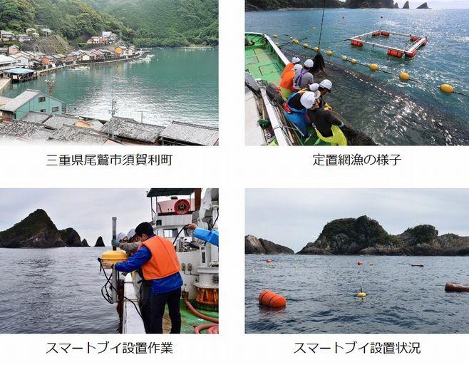 KDDI総合研究所×ゲイト | スマート漁業の実現に向けて三重県で実証実験