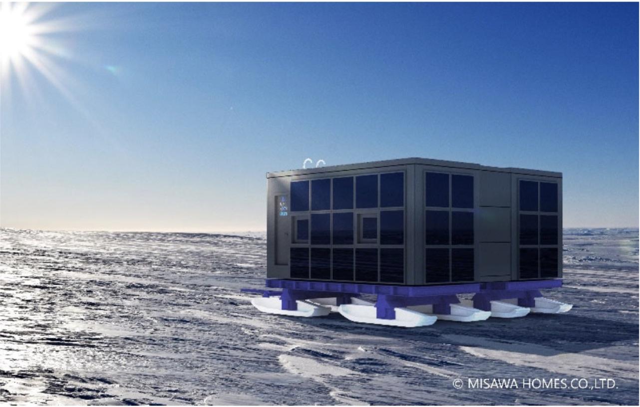 JAXA×極地研×ミサワホーム×ミサワ総研 | 「南極移動基地ユニット」の実証実験を実施