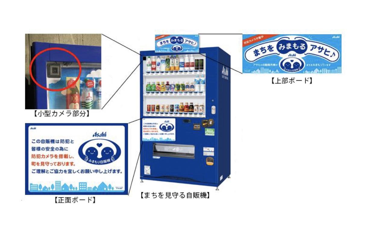 アサヒ飲料×NEC|クラウド型カメラ付自動販売機の提供を開始