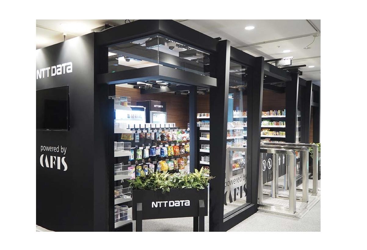 NTTデータ、中国・クラウドピック社と提携しレジ無しデジタル店舗出店サービスを提供開始