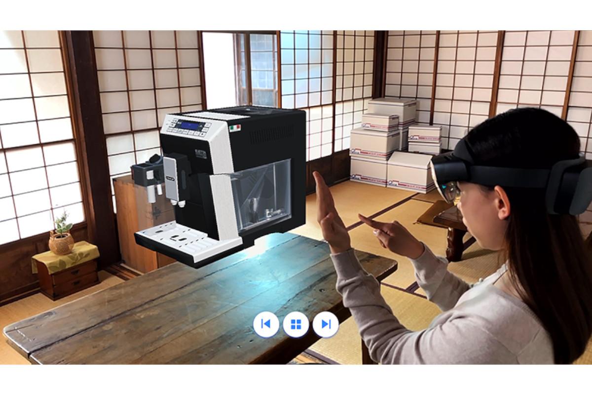 ベルシステム24×デロンギ×日本マイクロソフト×DataMesh | MR技術を活用した次世代型コールセンター構築プロジェクトを開始