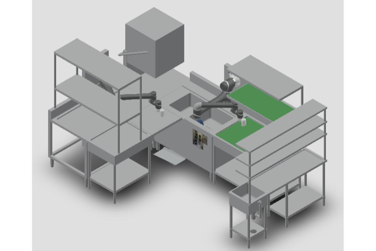 コネクテッドロボティクス×SRSホールディングス | 実用化に向けた「ロボット食洗システム」を共同開発