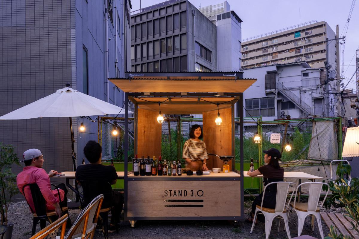 【大阪発、遊休地を屋台でシェアする「STAND3.0」】 日本スタートアップ支援協会、JR西日本イノベーションズなどから資金を調達
