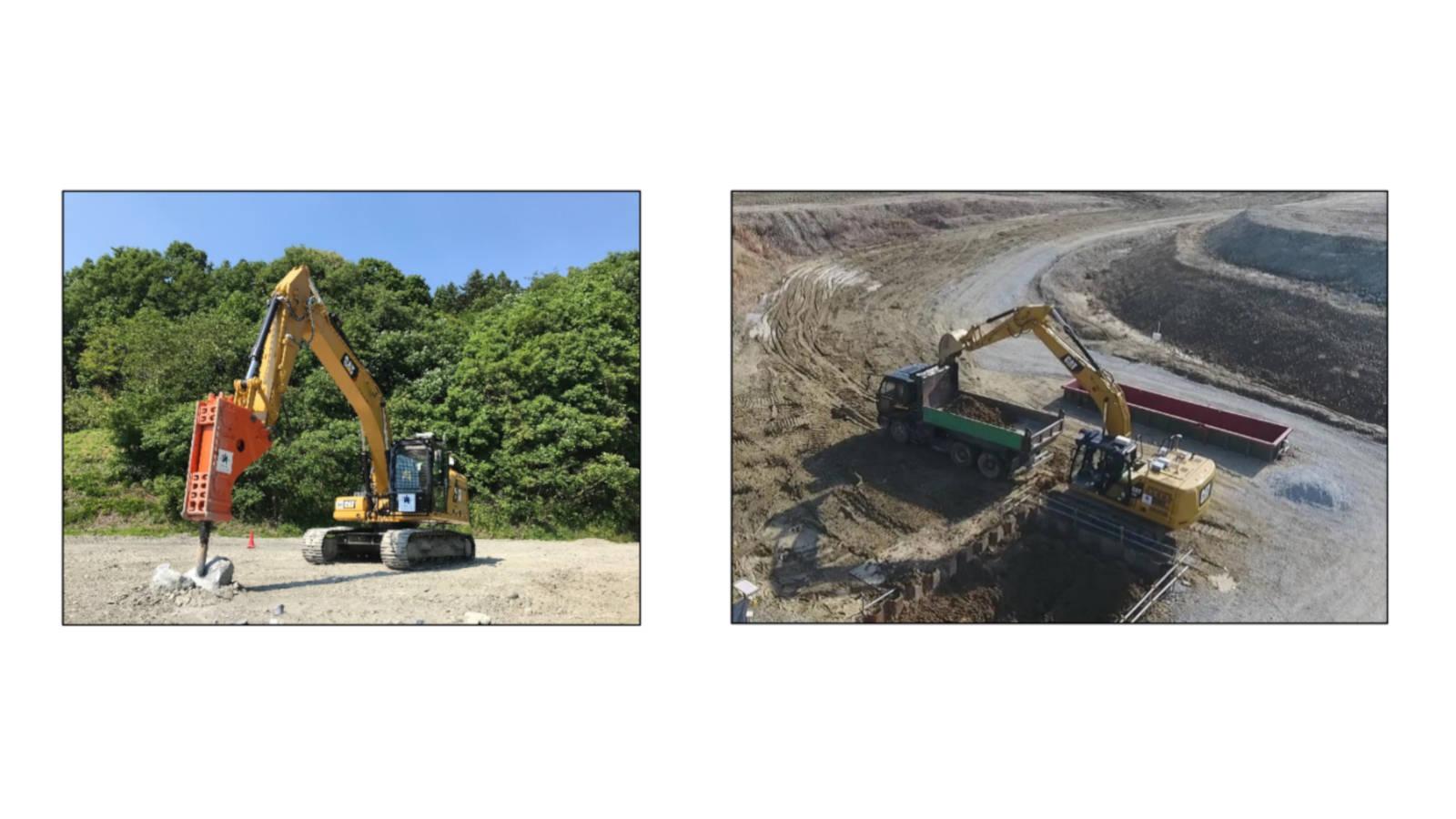大成建設×キャタピラー|建設機械の共同開発により、建設現場での作業自動化を目指す