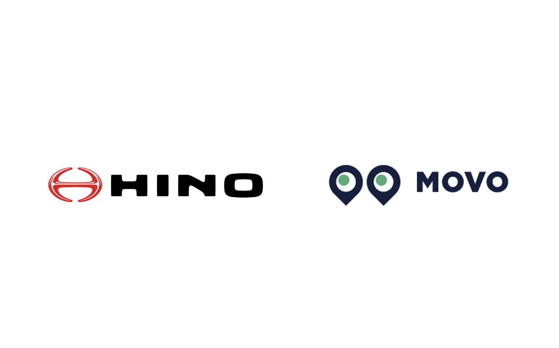 日野自動車と物流情報プラットフォーム「MOVO」を提供するHacobuが業務提携