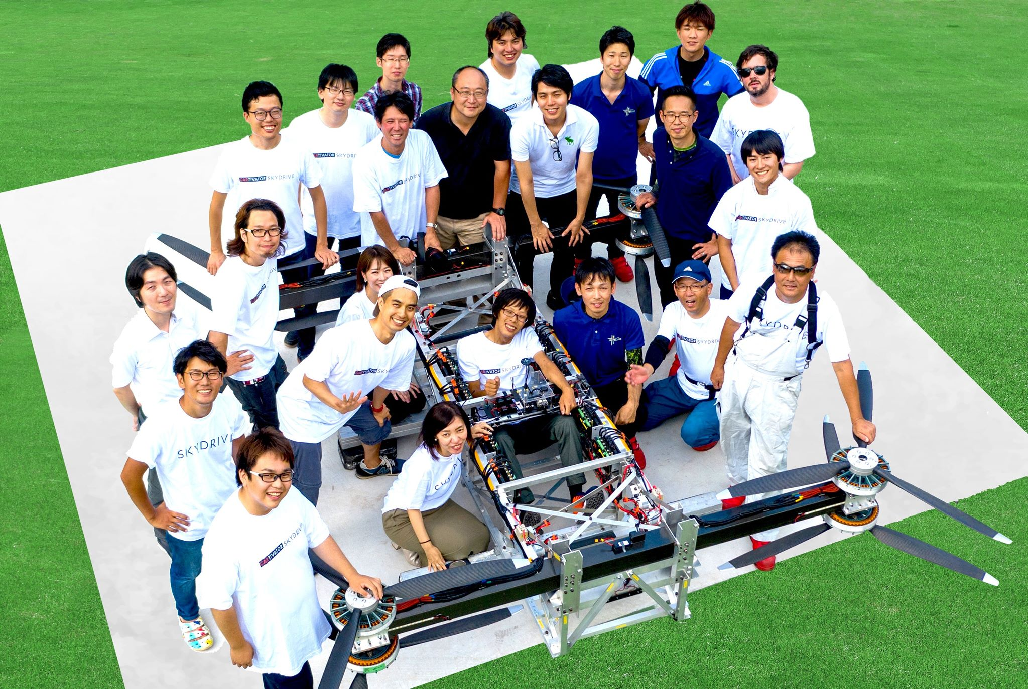 「空飛ぶクルマ」のSkyDriveが15億円調達、年内に有人飛行試験開始へ