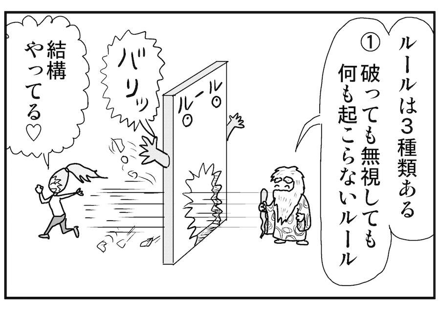 【連載/4コマ漫画コラム(54)】 新規事業を進めるためのルールとの向き合い方
