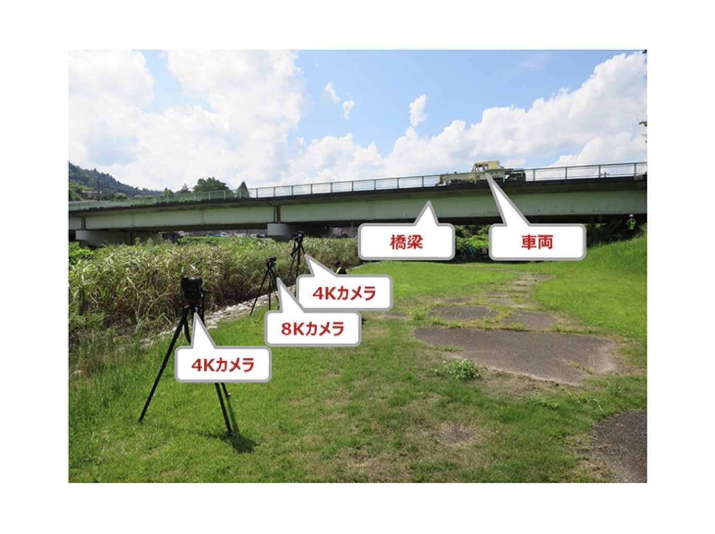 NTTドコモ×京大|世界初、動画撮影で橋のたわみと車両重量をもとに劣化を推定する「橋梁劣化推定AI」を開発