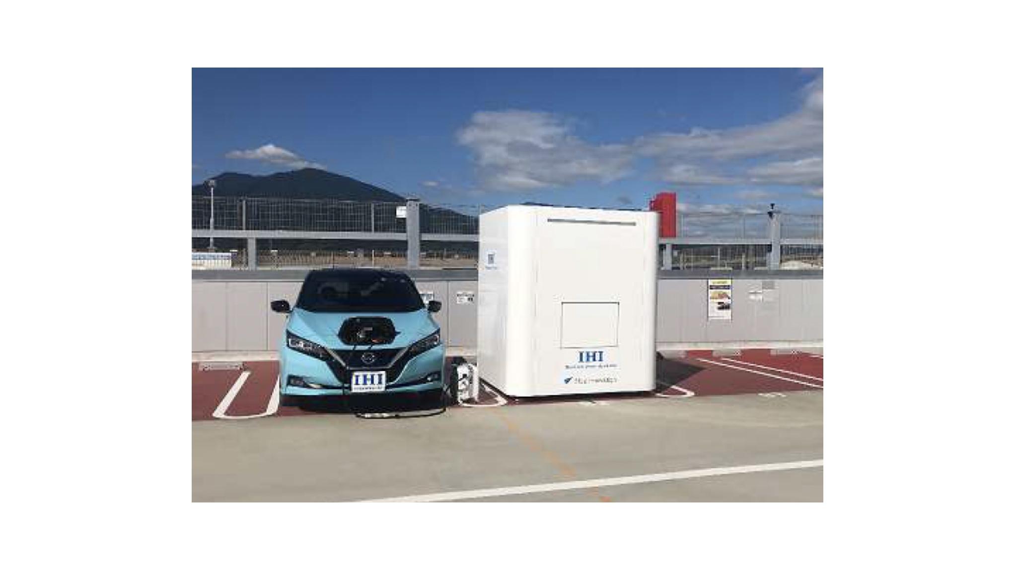 IHI×ブルーイノベーション|国内初、ドローンから自動運転モビリティへの荷物の無人受け渡しを実現