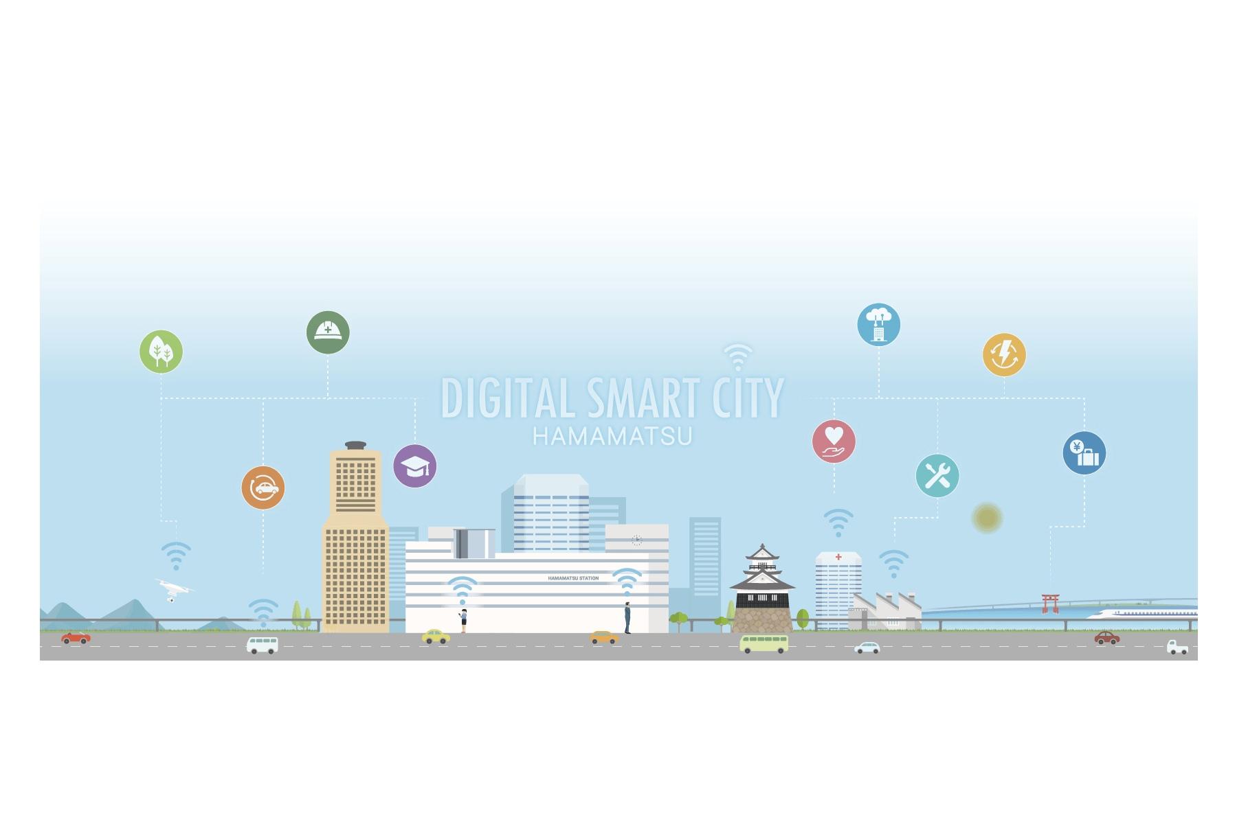 浜松市×NEC×ソフトバンク×ドコモ | データ連携基盤を活用した実証実験プロジェクトへの参加者を全国から募集