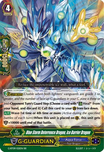 Blue Storm Deterrence Dragon, Ice Barrier Dragon