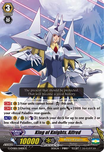 King of Knights, Alfred