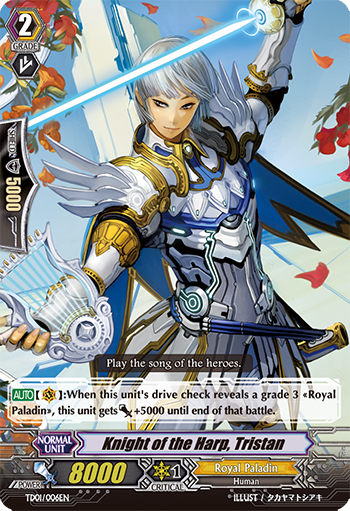 Knight of the Harp, Tristan