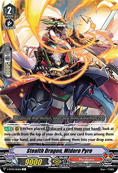 Stealth Dragon, Midoro Pyro
