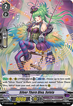 Silver Thorn Diva, Selvia