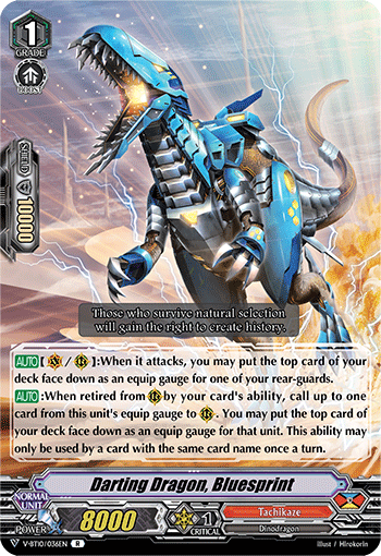 Darting Dragon, Bluesprint