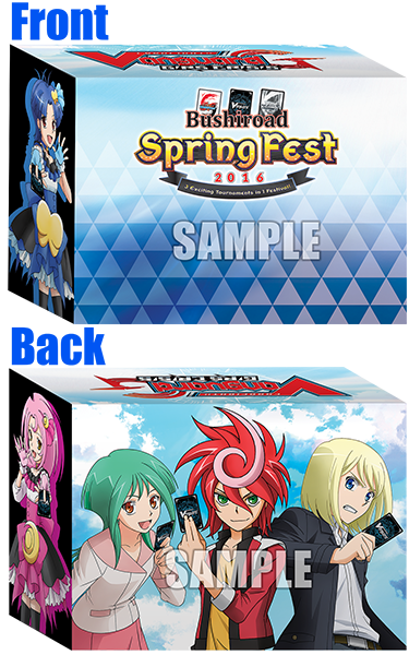 Promo Deck Case for BSF2016