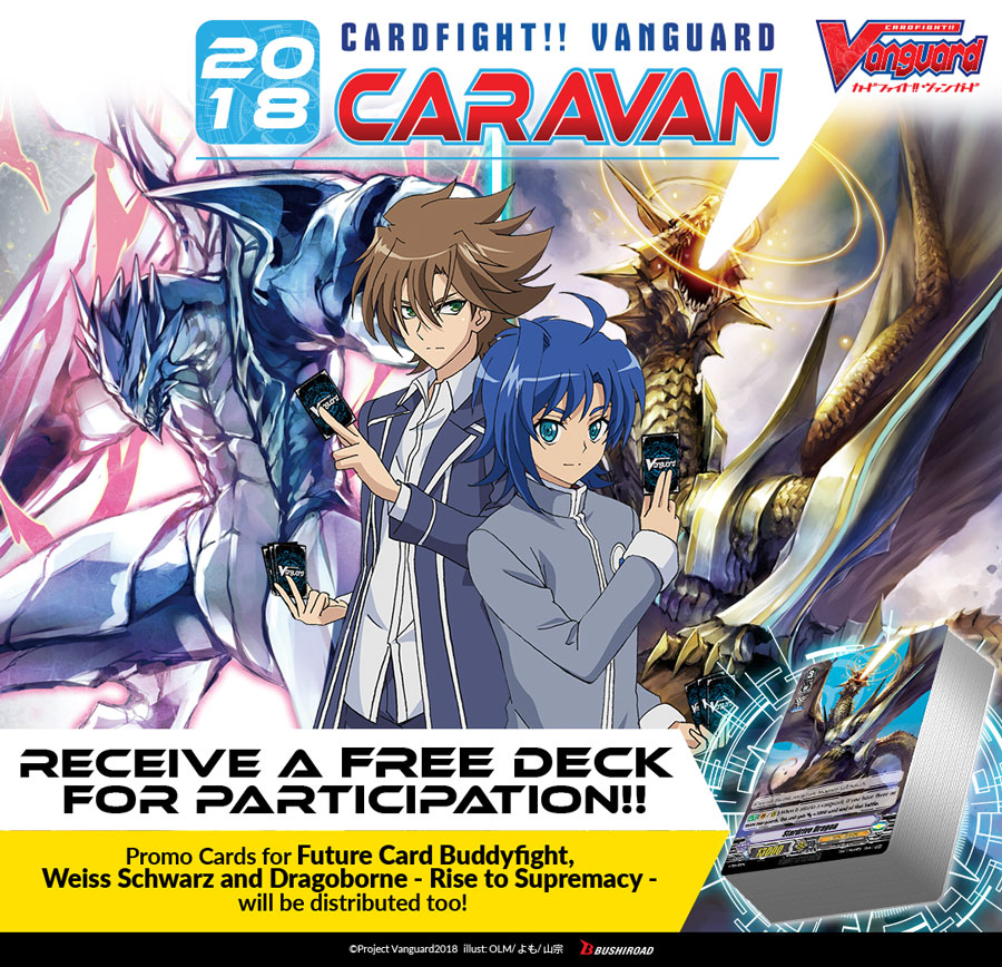 Cardfight!! Vanguard Caravan 2018