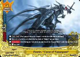 "Fenrir, ""Curse of Vanargand"""