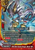 """Fifth Omni Cavalry Dragon, Merak """"SD"""""""