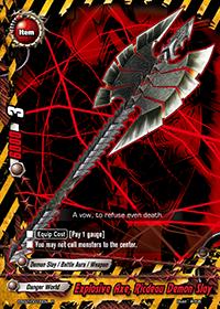 Explosive Axe, Ricdeau Demon Slay