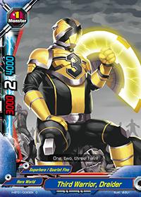 Third Warrior, Dreider