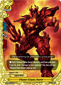 Flame Giant, Surtr