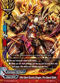 Fifth Omni Cavalry Dragon, Fire Sword Doble