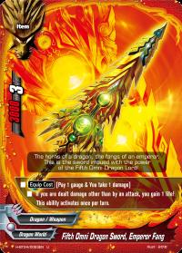 Fifth Omni Dragon Sword, Emperor Fang