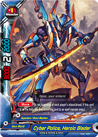 Cyber Police, Heroic Blader