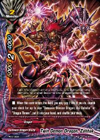Twin Demon Dragon, Zahhak