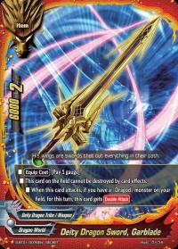 Deity Dragon Sword, Garblade