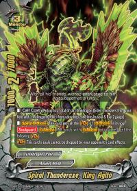 Spiral Thunderaxe, King Agito