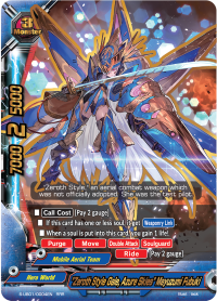 """""""Zeroth Style Gale, Azure Skies"""" Mayuzumi Fubuki"""