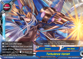 Turbulence Vanish