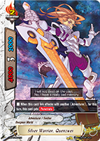 Silver Warrior, Quenzwei