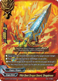 Fifth Omni Dragon Sword, Dragobrave