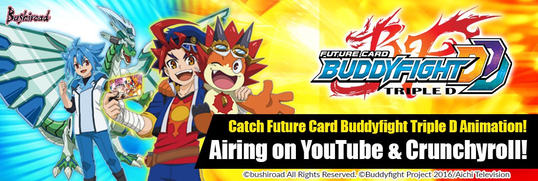 Season 3 Future Card Buddyfight Triple D