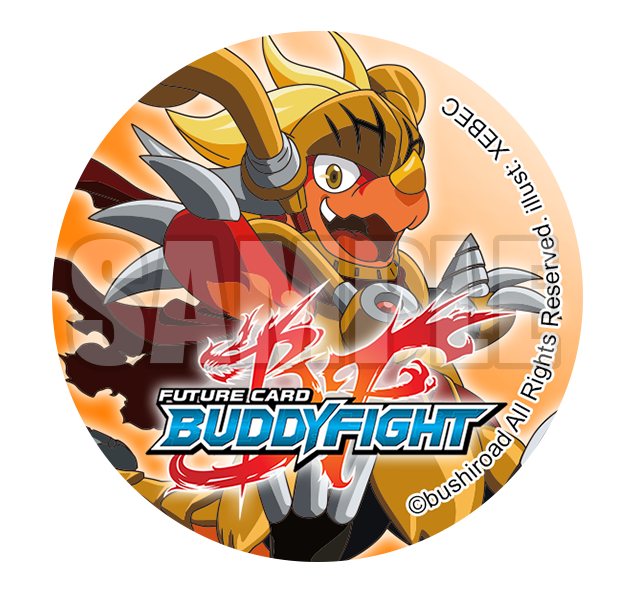 Buddyfight Can Badge for Buddy Fight