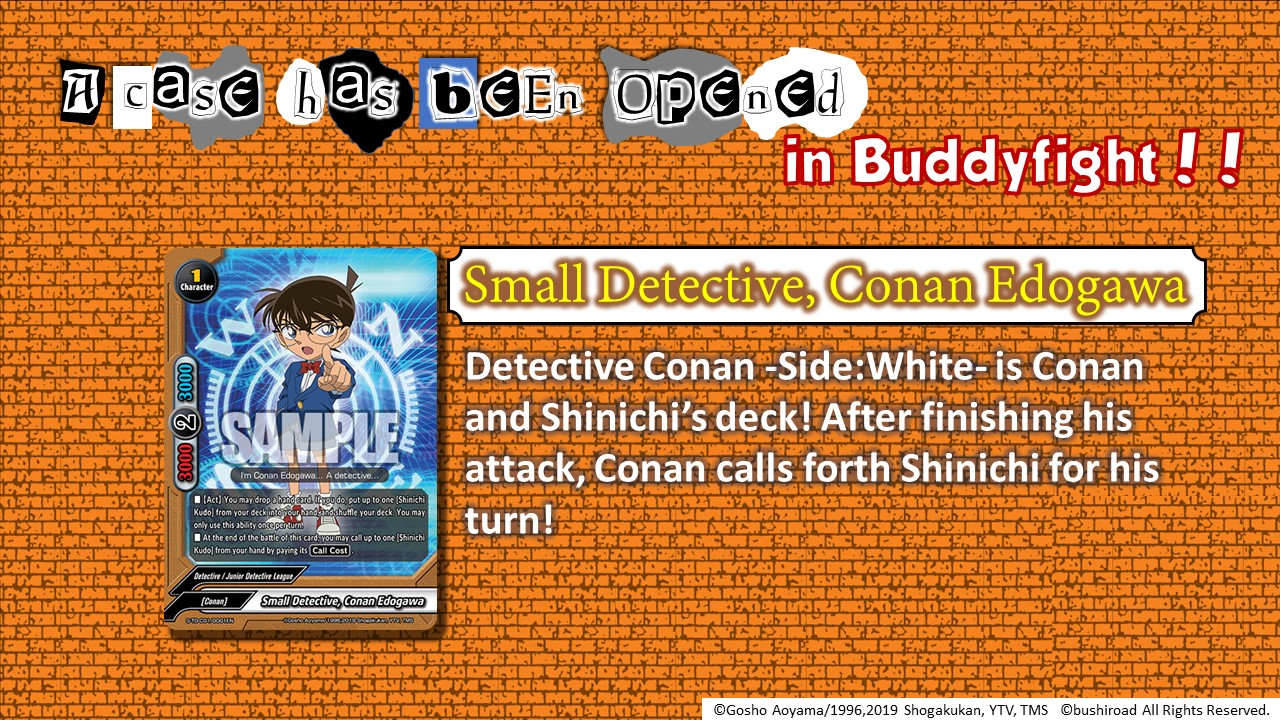 Introducing Small Detective, Conan Edogawa