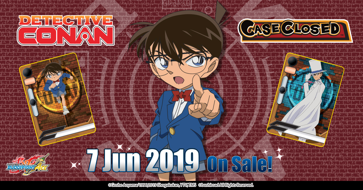 Future Card Buddyfight Detective Conan Stationary Bushiroad Trading Card Game