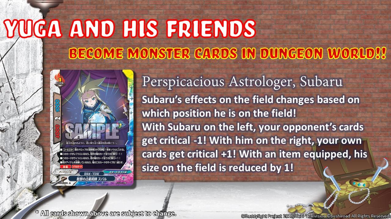 Perspicacious Astrologer Subaru