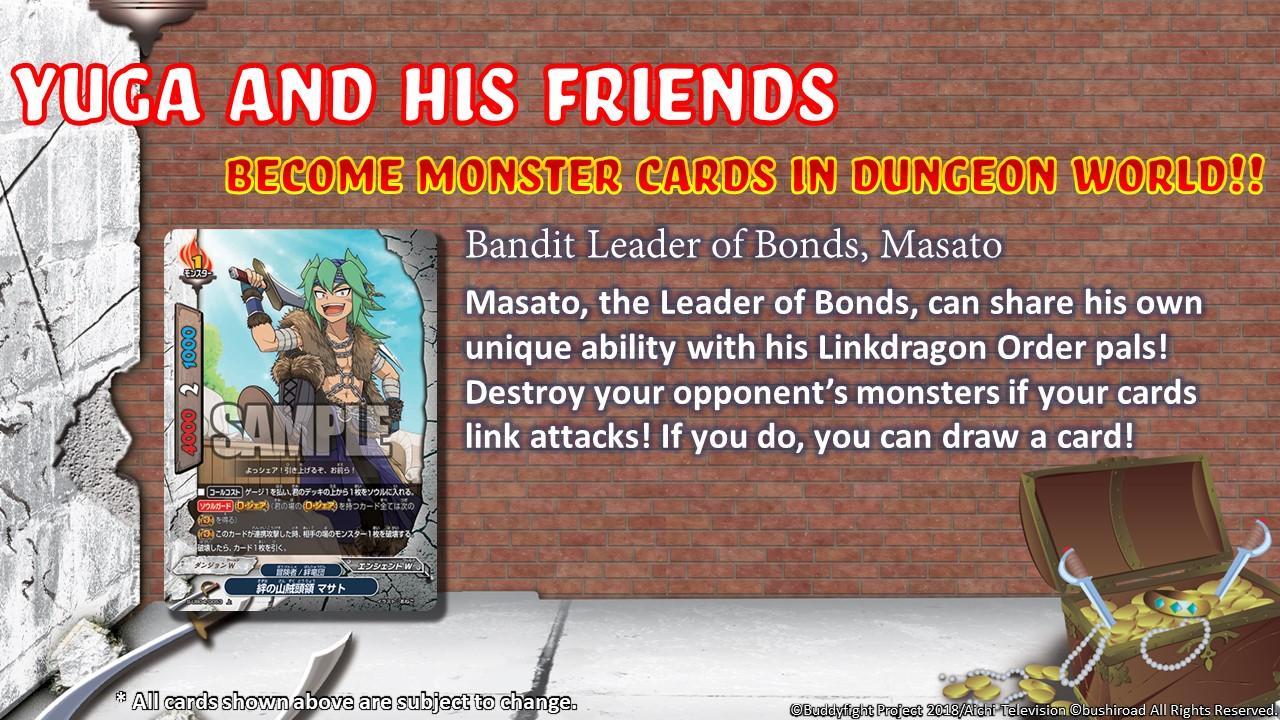 Bandit Leader of Bonds Masato