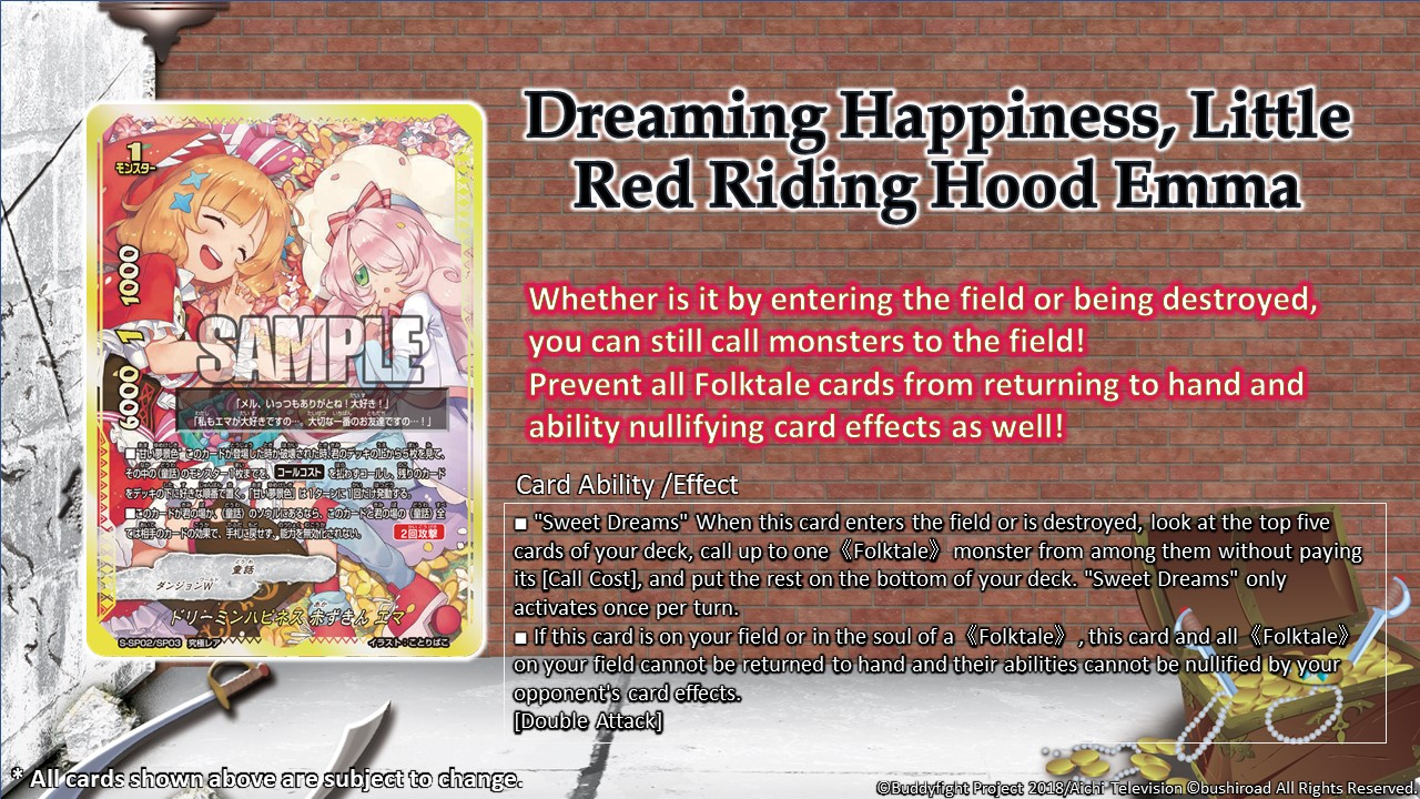 Dreaming Happiness Little Red Riding Hood Emma