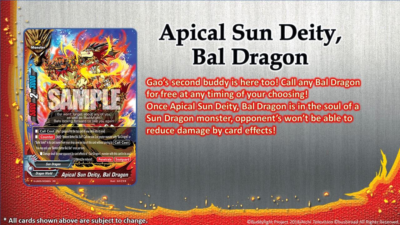 Apical Sun Deity Bal Dragon