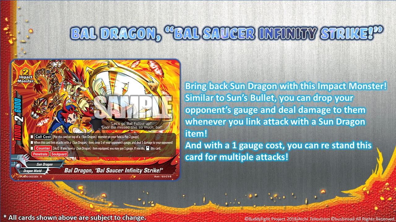 Bal Dragon Bal Saucer Infinity Strike