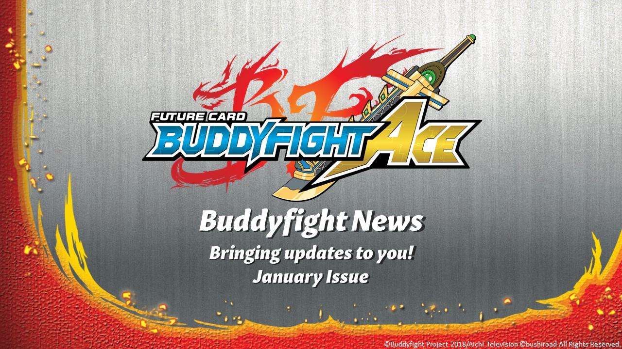 Buddyfight News Jan Issue