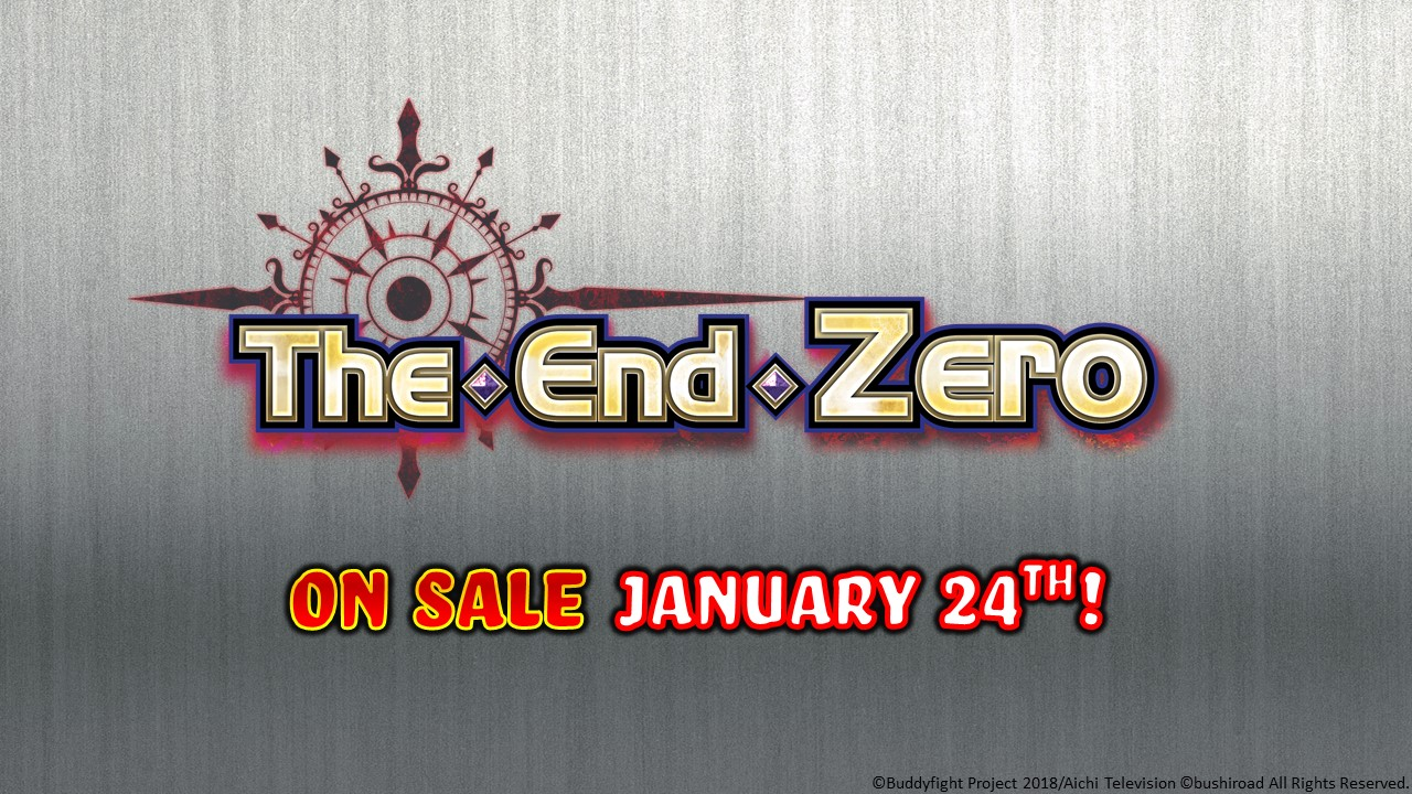 The End Zero S-SS03 on sale Jan 24